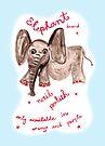 elephant polish by Soxy Fleming