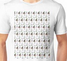 CARYL Mini Symbols - Lime Unisex T-Shirt