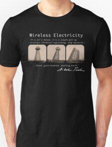 Nikola Tesla - Wireless Electricity T-Shirt