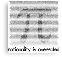 Pi: Rationality is overrated Canvas Print