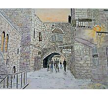 Old City Jerusalem Photographic Print