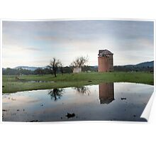 Yarra Valley reflections Poster