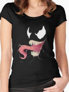 Comics Villain Women's Fitted Scoop T-Shirt