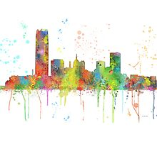 Oklahoma City, Oklahoma Skyline Photographic Print
