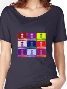 Funky Tesla Tower  Women's Relaxed Fit T-Shirt