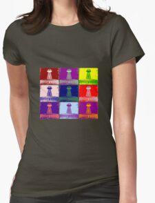 Funky Tesla Tower  Womens Fitted T-Shirt