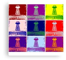 Funky Tesla Tower  Canvas Print