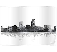 Omaha, Nebraska Skyline Poster