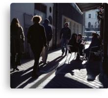 A Street Scene! Canvas Print