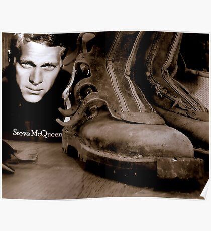 These Boots Are Hard To Fill Poster