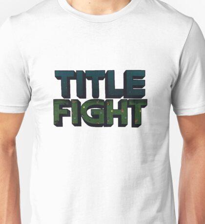 Title Fight logo Unisex T-Shirt