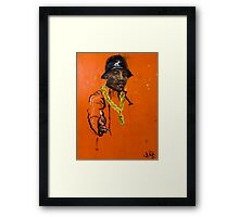 Keepin' it Gangsta! Framed Print