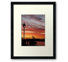 Prelude To Day Framed Print