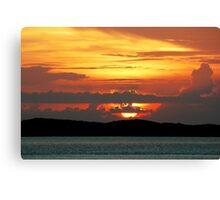Bahama Sunset Canvas Print
