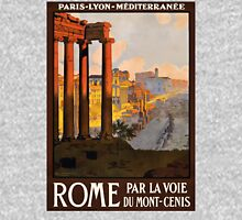 Vintage Rome Travel Poster Unisex T-Shirt