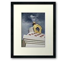 Stupa-fied Framed Print