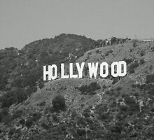 Hollywood Sign by Karen Checca