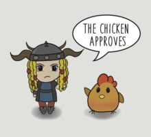 """The Chicken Approves"" HTTYD Race to the Edge T-Shirt"