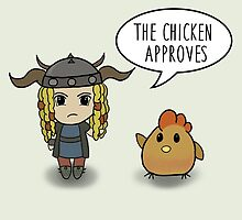 """The Chicken Approves"" HTTYD Race to the Edge by thisisbrooke"