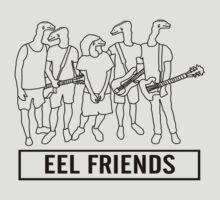 Eel Friends by thebeardguy