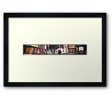 Times Square at Nighttime 2015 Framed Print