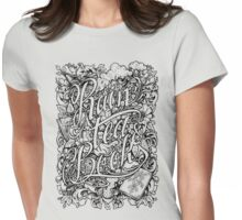 Rain, Tea & Books - Full version Womens Fitted T-Shirt