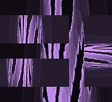 Purple Abstract Collage by PPPhotoArt