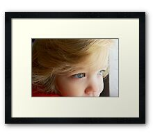 Micah Dectur - My Very Own Little Man Framed Print