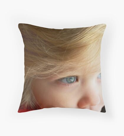 Micah Dectur - My Very Own Little Man Throw Pillow