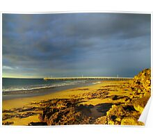 Point Lonsdale Jetty Poster