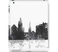 Providence, Rhode Island Skyline - B&W iPad Case/Skin