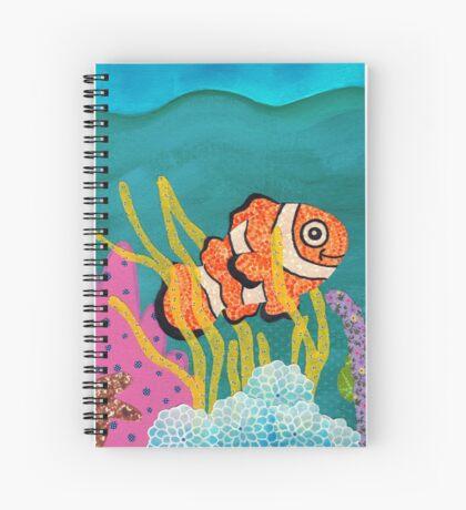 Clownfish Duvet  Spiral Notebook