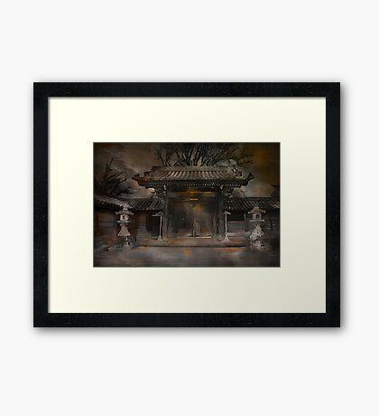 ,,,GATE..... Framed Print