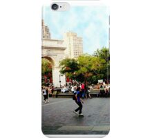 Washington Square, Greenwich Village, NYC, NY iPhone Case/Skin