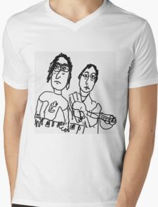 Collaboration Mens V-Neck T-Shirt