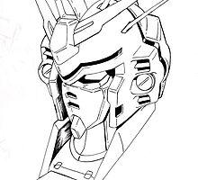 Gundam Mech by xxstrider123xx