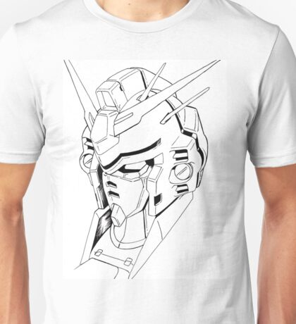 Gundam Mech Unisex T-Shirt