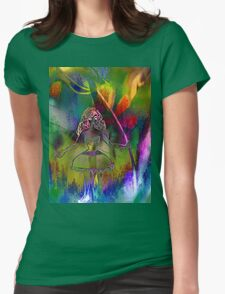 Tulip & Girl. Womens Fitted T-Shirt