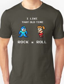 Old Time Rock and Roll - Megaman 8bit Classic Unisex T-Shirt