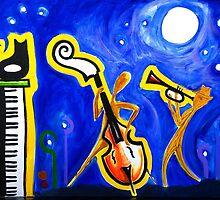 New Orleans Night by Ruben Garcia