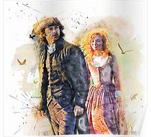 """""""Loved in return"""" Ross & Demelza Poster"""