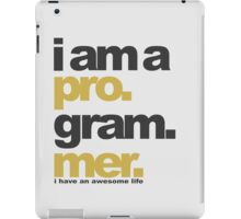 I am a programmer iPad Case/Skin