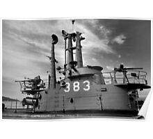 USS Pampanito Still Life  Poster