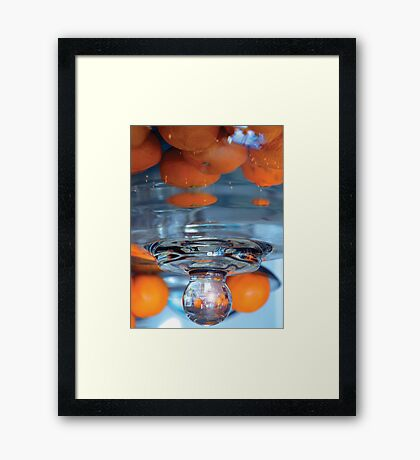 Ordinary reality melting away Framed Print