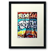 Melbourne- Graffiti Street - Hosier Lane - Victoria - Australia  Framed Print