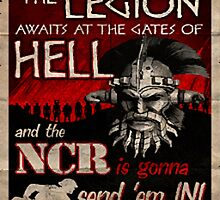 Awaiting at The Gates of Hell - Fallout by APerson22