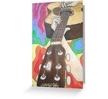 Seeing Music Greeting Card