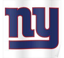 New York Giants Logo Poster