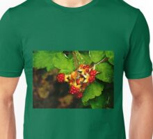 Juicy Delicious Wild Raspberies Unisex T-Shirt