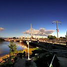 Esplanade Riel  by Larry Trupp